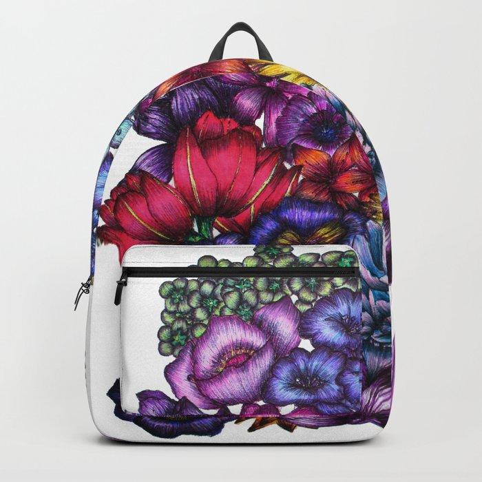 A Field of Flowers Backpack