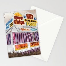 Carnival Food Van Stationery Cards
