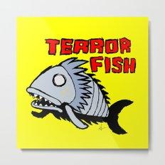 Terror fish Metal Print