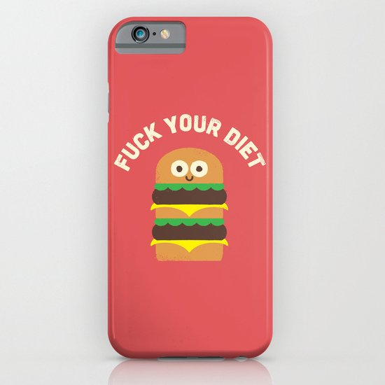 Discounting Calories iPhone & iPod Case