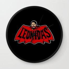 Leonidas logo Wall Clock