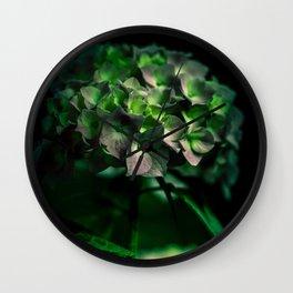 Fiore Verde Wall Clock