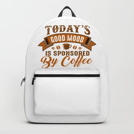 Coffee Good Mood Sponsorship Backpack