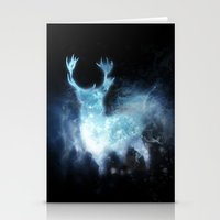 stag Stationery Cards featuring stag by Tati™