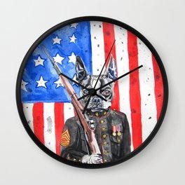 Sarge Wall Clock