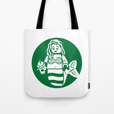 Minifigure Mermaid Tote Bag
