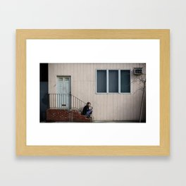 Brooklyn Streets Framed Art Print