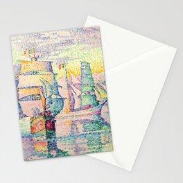 "Paul Signac ""Les bricks-goélettes. Antibes"" Stationery Cards"