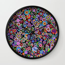 Spots (Version 7) by Bruce Gray Wall Clock