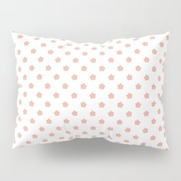 Polka Flower Spring Dots Pillow Sham