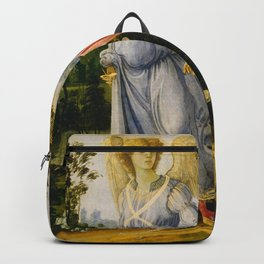 Filippino Lippi - Tobias and the Angel Backpack