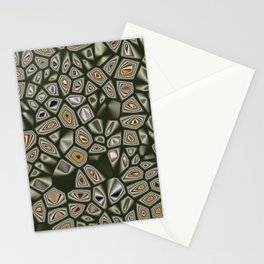 Abstract CMR 03 on VB Stationery Cards