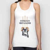 dead space Tank Tops featuring Dead Space by Spiritius