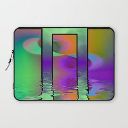 fractal triptych -2- Laptop Sleeve