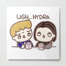 Ugh Hydra (stucky) Metal Print
