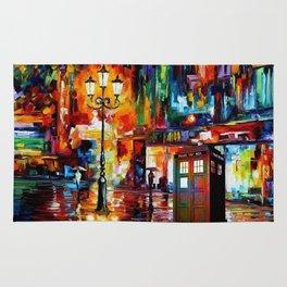 Tardis Painting Rug
