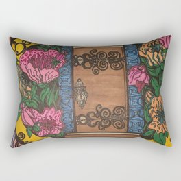 GOD'S DOOR Rectangular Pillow