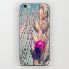 Pink Ladybug iPhone Skin