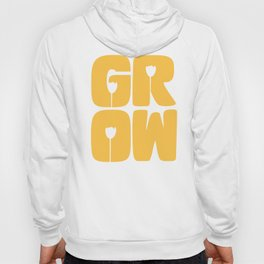 Grow Typography Hoody