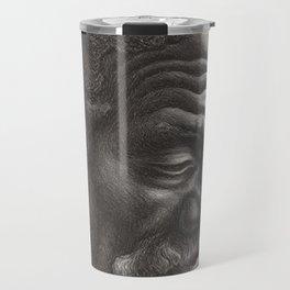 Classical Masterpiece 'Aaron' by Thomas Hart Benton Travel Mug