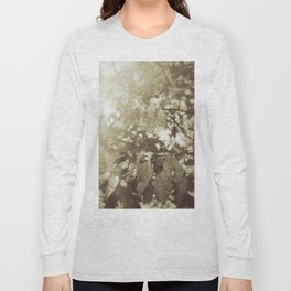 Abide with Me (Gold) Long Sleeve T-shirt