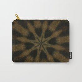 Spotted Leopard Brown Wild Cat Kaleidoscope Carry-All Pouch