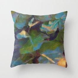 Dappled #botanical #nature #watercolor #society6 Throw Pillow
