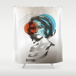 Der Kreis der Erinnerung 4 Shower Curtain