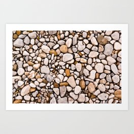 A million shapes Art Print