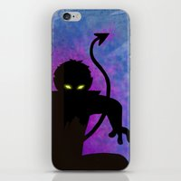 nightcrawler iPhone & iPod Skins featuring Nightcrawler by Sprite