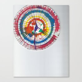Colorful Spin Canvas Print