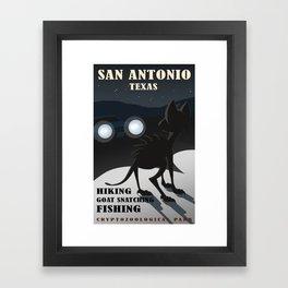 CPS: San Antonio, TX Framed Art Print