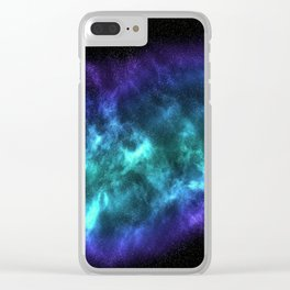 Cool Galaxy Clear iPhone Case
