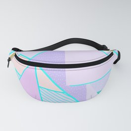 Hello Mountains - Lavender Hills Fanny Pack