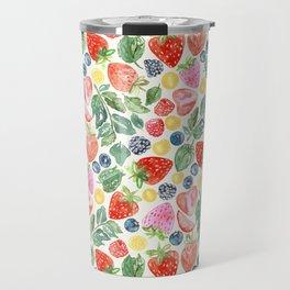 Summer Berries Travel Mug