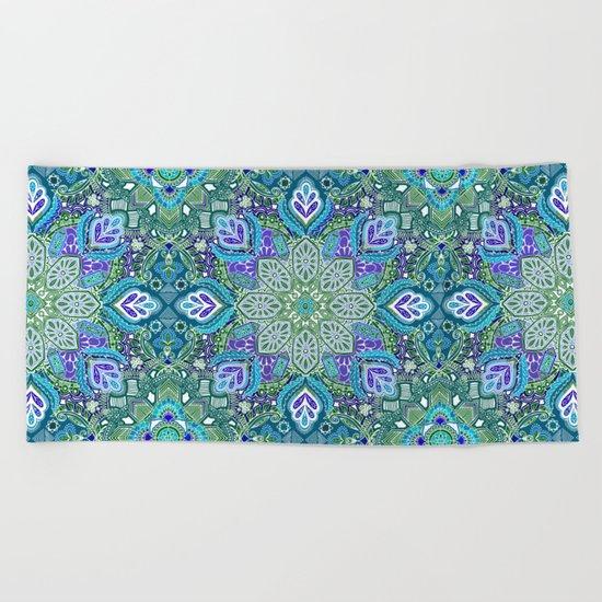 Peacock Summer Beach Towel