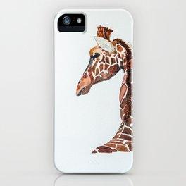 Giraff Painting iPhone Case