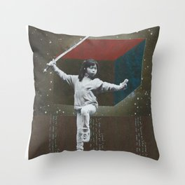 ...Lucha... Throw Pillow