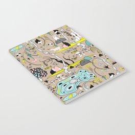 Magical Garden (Beige) Notebook