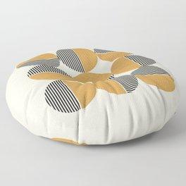 Circle pattern mid-century style Floor Pillow