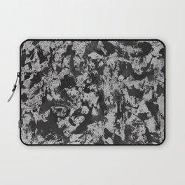 Black Ink on White Background #2 Laptop Sleeve