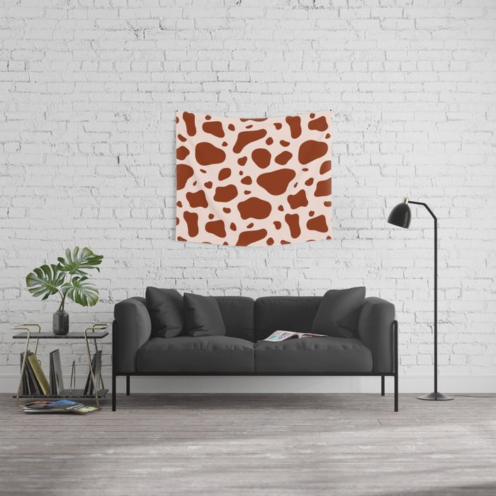 How Now Brown Cow Wall Tapestry