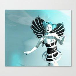 Manta Ray Canvas Print