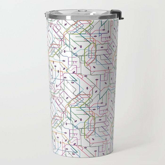 London Subway Travel Mug