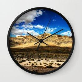 Death Valley Beauty Wall Clock