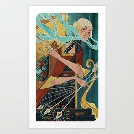 1000 Cuts Art Print