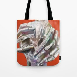Skeleton Head Tote Bag