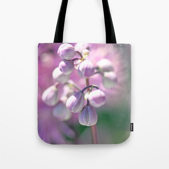 Purple buds. Tote Bag