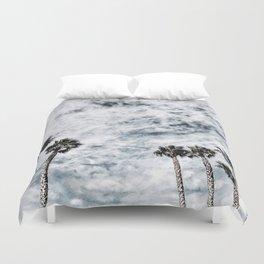 California Palm Trees Duvet Cover
