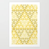triforce Art Prints featuring Triforce by Gavin Guidry